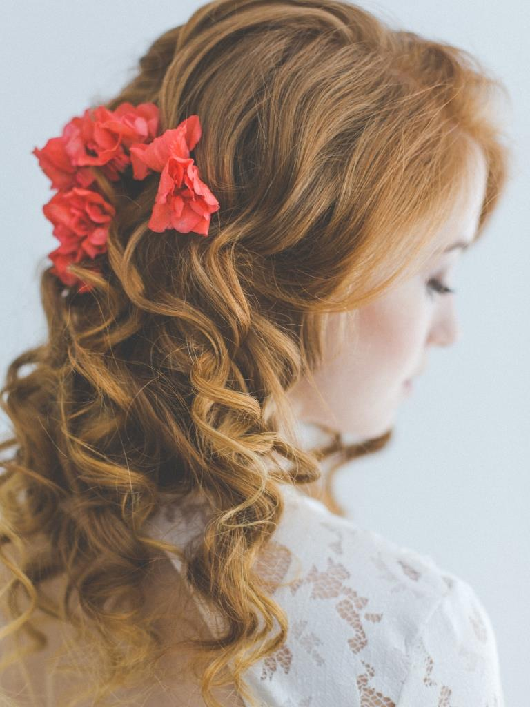 Rebecca wedding styling by Zuzanna Grabias hair and makeup