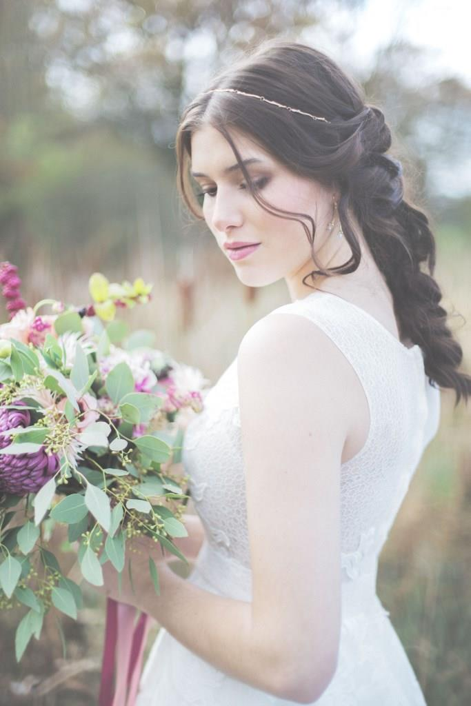 Natur Love wedding styling by Zuzanna Grabias hair and makeup hajs-ajs