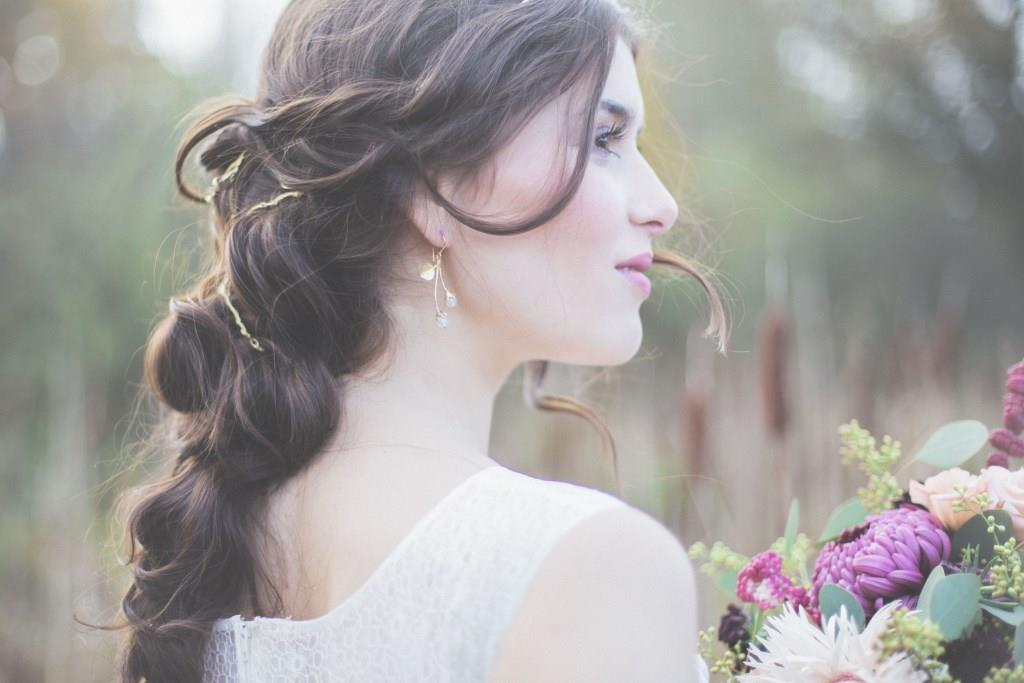 Natur Love wedding hair and makeup by Zuzanna Grabias hajs-ajs München