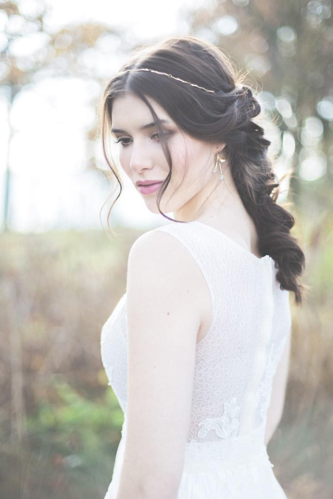 Natur Love wedding hair styling and makeup Zuzanna Grabias