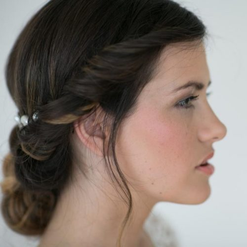 Sabrina Wedding Styling Hair and Makeup by Zuzanna Grabias München