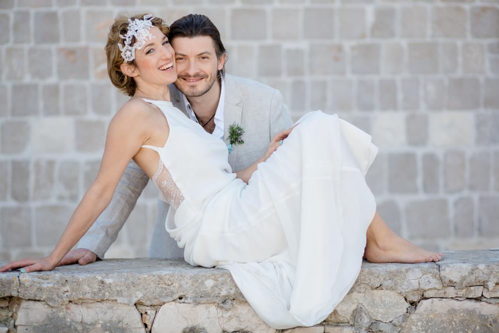 Foto: Wedding Memories Kroatien Love hochzeit hair and makeup by Zuzanna Grabias