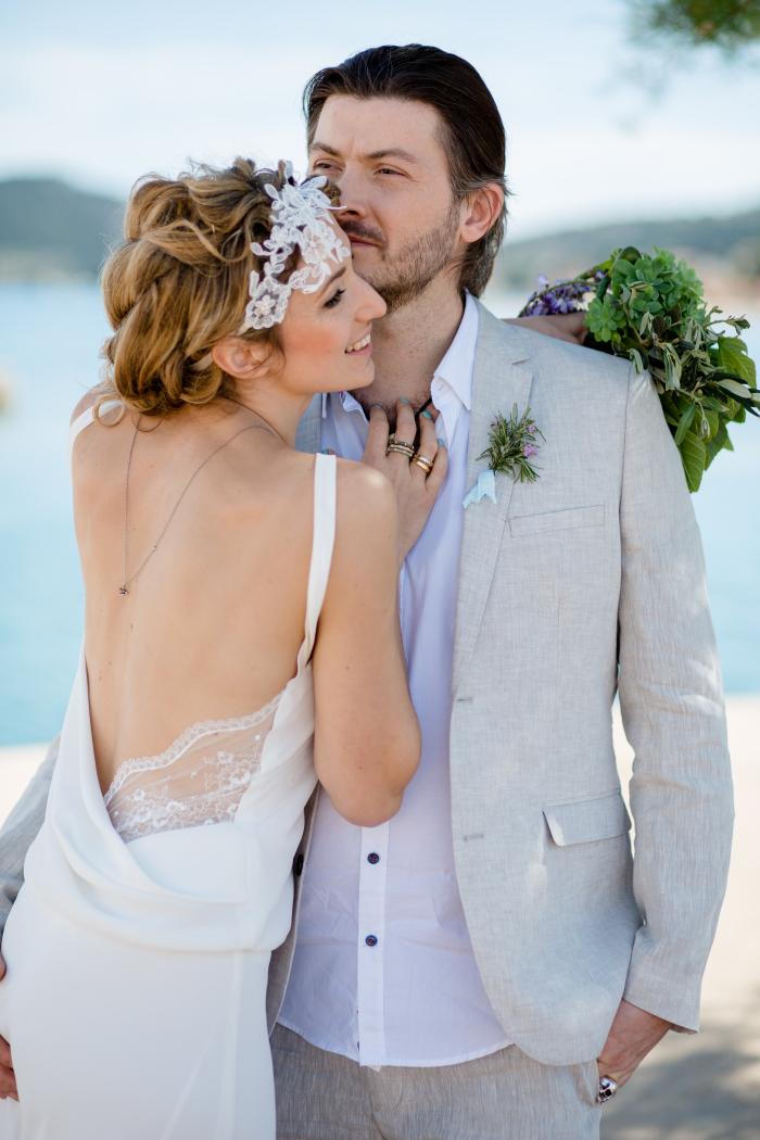 Foto: Wedding Memories Kroatien Love hochzeit styling by Zuzanna Grabias hair and makeup