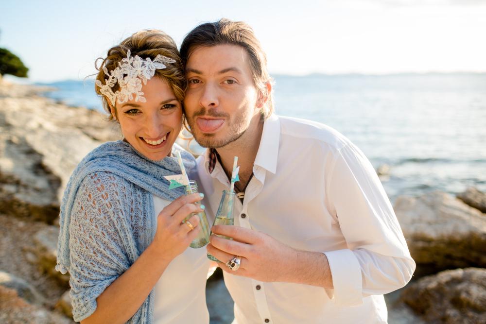 Foto: Wedding Memories Kroatien Love hochzeit hair and makeup by Zuzanna Grabias München