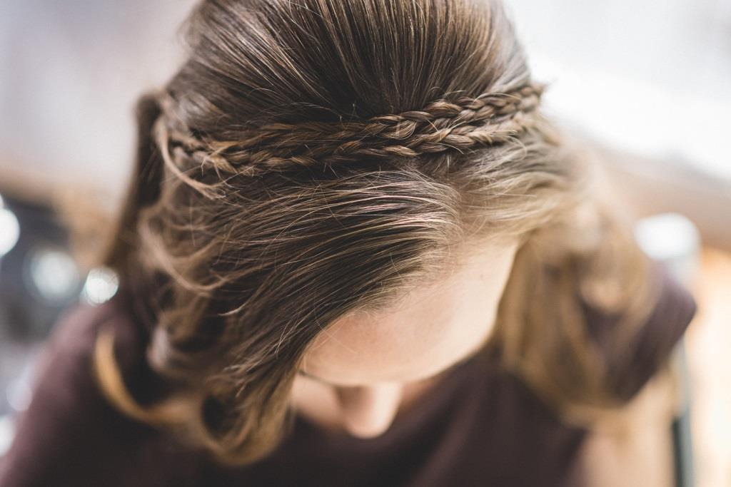 Amelie Wedding Hair Styling Zuzanna Grabias hajs-ajs München