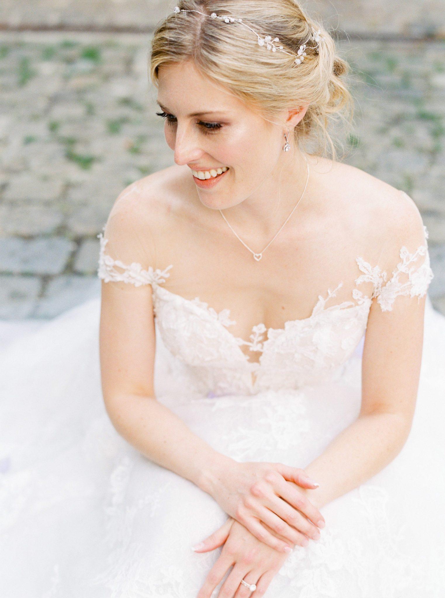 Foto: Birgit Hart Hochzeit Styling Haare Make-up Munich wedding hair makeup hochzeitshaare