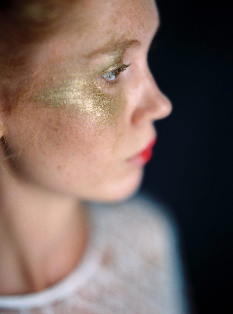 Foto: Birgit Hart photoshooting Alte Meister makeup by Zuzanna Grabias hair and makeup München
