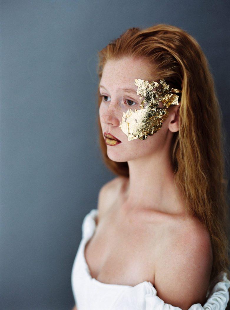 Foto: Birgit Hart photoshooting Alte Meister makeup by Zuzanna Grabias hair and makeup hajs-ajs München