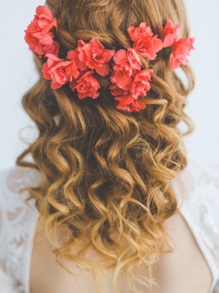 Rebecca wedding hair and makeup by Zuzanna Grabias hajs-ajs München