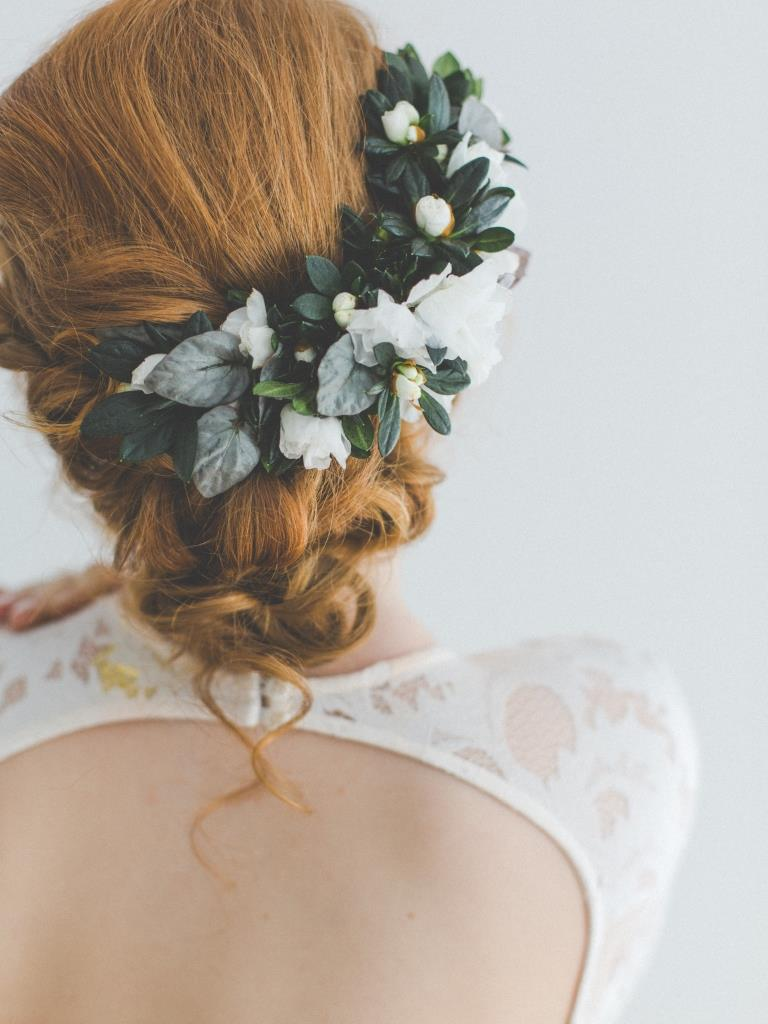 Rebecca wedding hair styling and makeup by Zuzanna Grabias hajs-ajs
