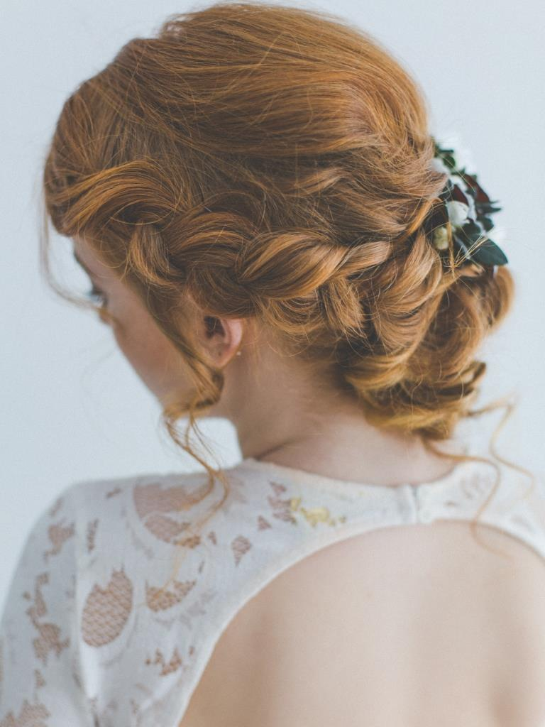 Rebecca hochzeit styling by Zuzanna Grabias hajs-ajs hair and makeup München