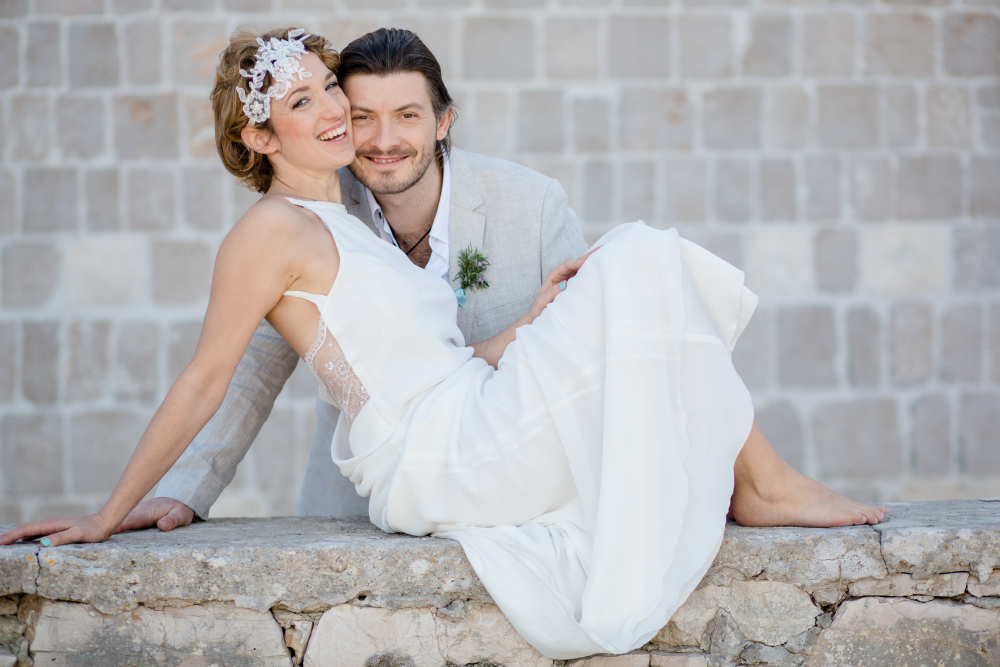Foto: Wedding Memories Kroatien Love hochzeit hair and makeup by Zuzanna Grabias