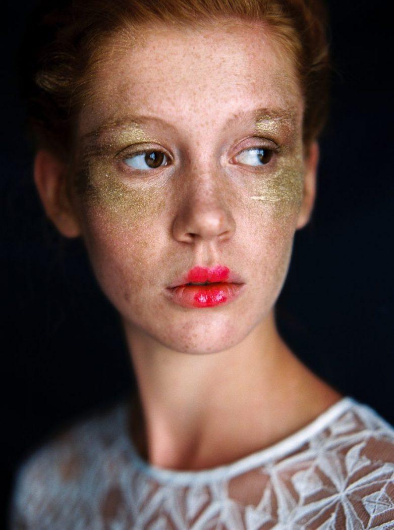Foto: Birgit Hart Alte Meister photoshooting styling by Zuzanna Grabias hair and makeup hajs-ajs München