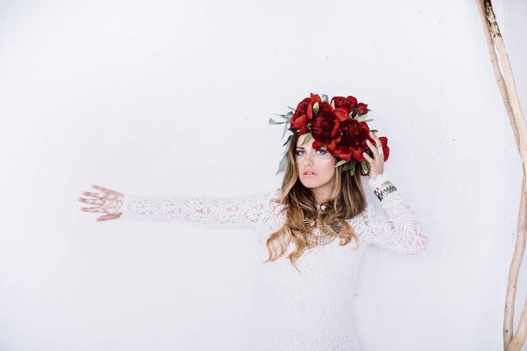 Roksana photoshooting styling by Zuzanna Grabias