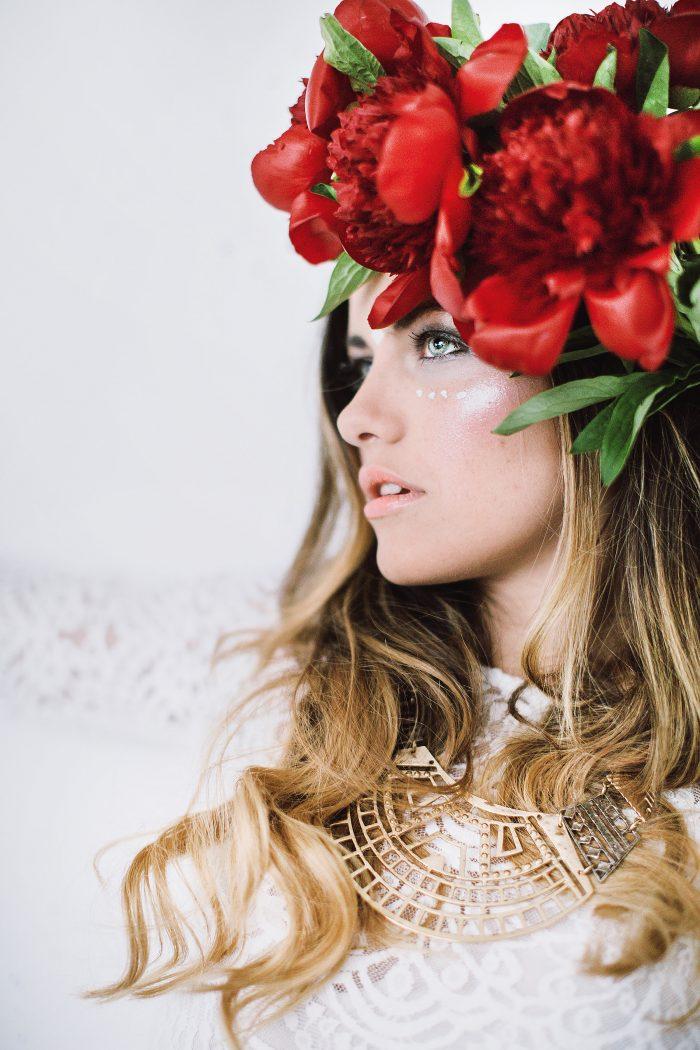 Roksana photoshooting styling hair and makeup by Zuzanna Grabias hajs-ajs München