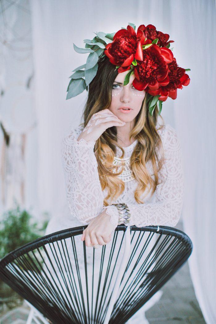 Roksana hair and makeup by Zuzanna Grabias