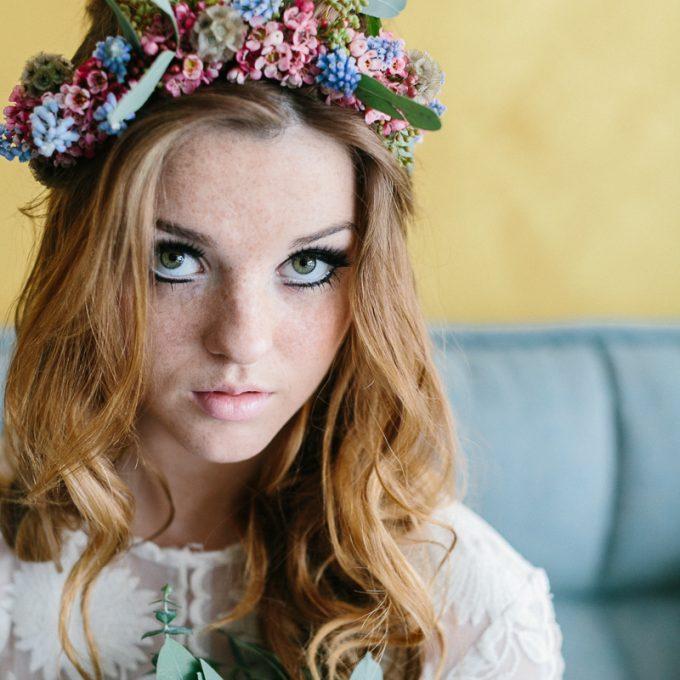Foto: Susanne Wysocki seventies commercial shooting make-up & styling Zuzanna Grabias hajs-ajs München